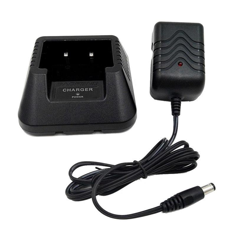 New-Radio Battery Desktop Charger Power Adapter For Baofeng Uv5R Plus Uv5Rb EU Plug