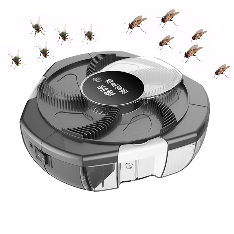 2020 Upgrade Electric Flycatcher Pest Insect Catcher Automatic Flycatcher Outdoor Indoor Capture Insect Pest Collector Usb Plug