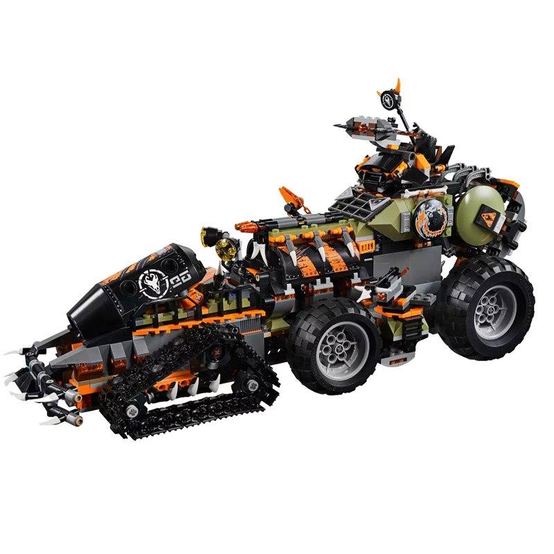 2020 New Ninja Toys Dieselnaut Compatible lepining Ninjagoing 70654 Building Blocks Figure Bricks for Children Christmas Gift