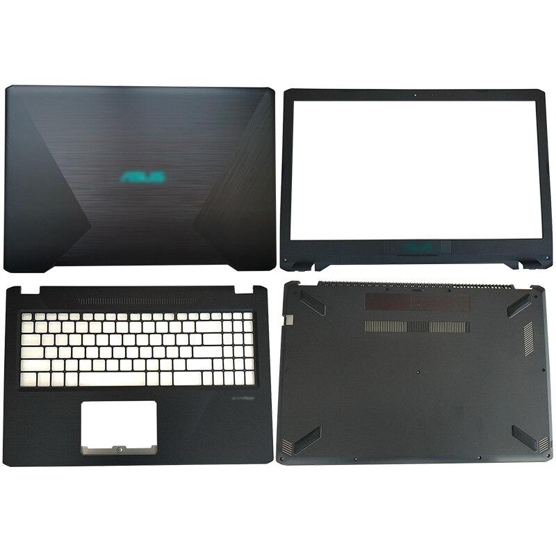 Blue LOGO Laptop LCD Back Cover/Front Bezel/Palmrest/Bottom Case For ASUS YX570 X570 YX570Z YX570ZD YX570UD FX570UD