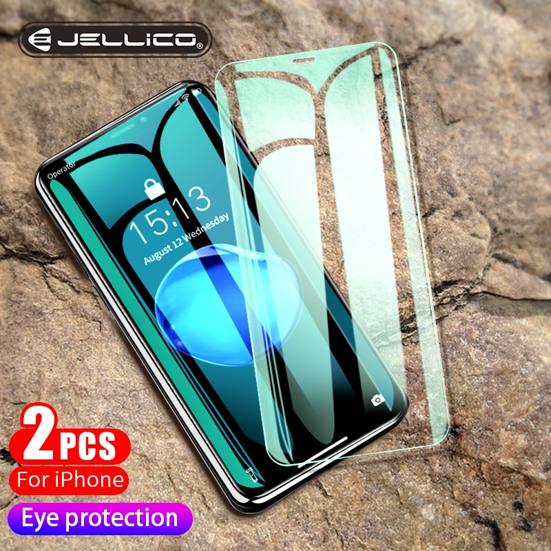 Jellico 3d protetor de tela para iphone xr 0.3mm ultra fino vidro protetor para iphone xs x xs max 7 8 vidro temperado filme frontal