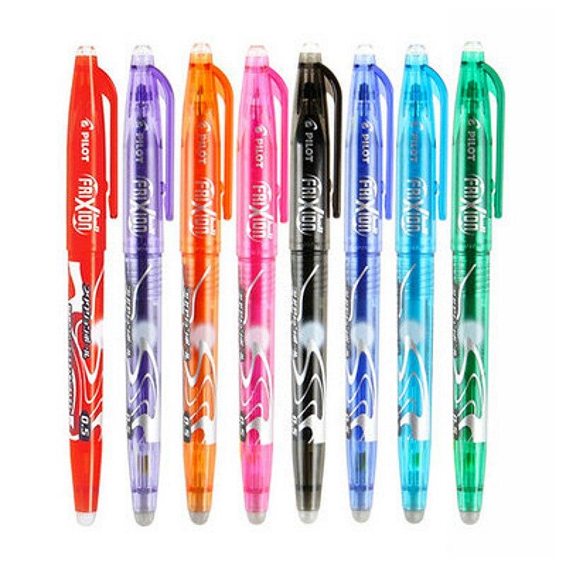 1 unidad, de alta calidad borrable bolígrafo de Gel, brillante, mágico, moda escolar, materiales de escritura para Oficina, Papelería para estudiantes