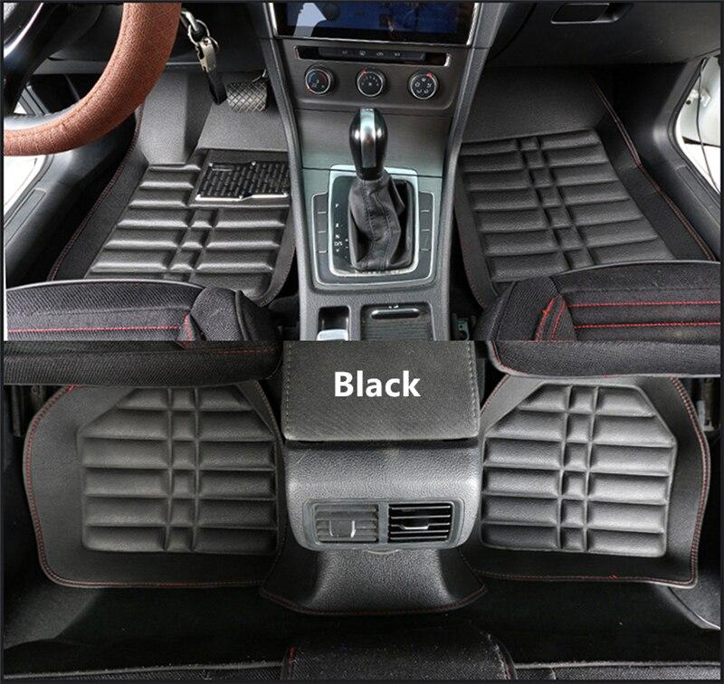 3D Universal alfombra del coche para Toyota Prius Vios Prado RAV-4 corona Fortuner corolla camry highlander C-HR Protector de estilo de coche