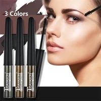 3d eyebrow dyeing gel anti paste long lasting waterproof eyebrow mascara cream eye shadow makeup beauty comstics tool with brush