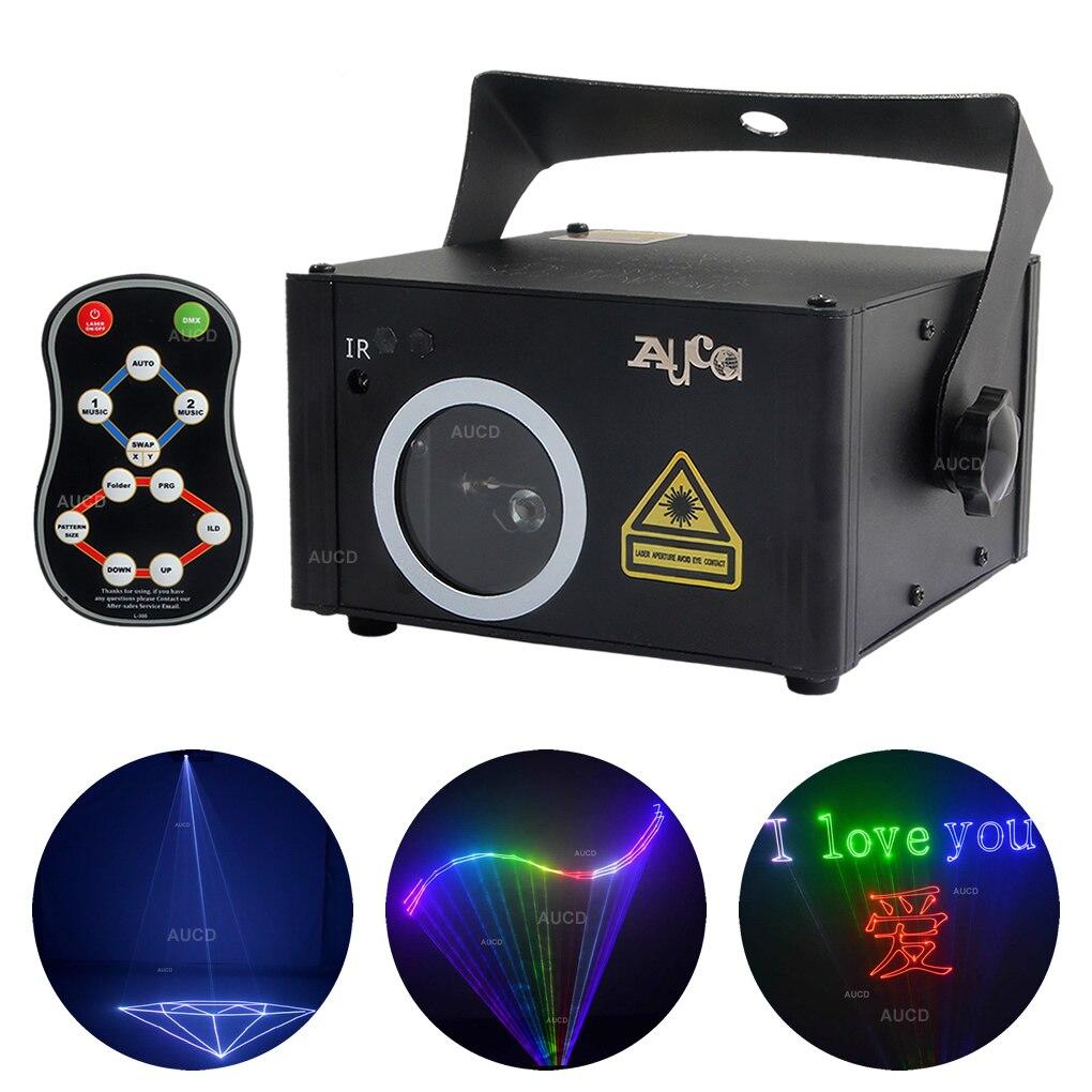 DMX512 RGB SD программная карта, лазерный прожектор с сканированием светильник, DJ диско, сценический эффект, световое шоу светильник дистанционн...
