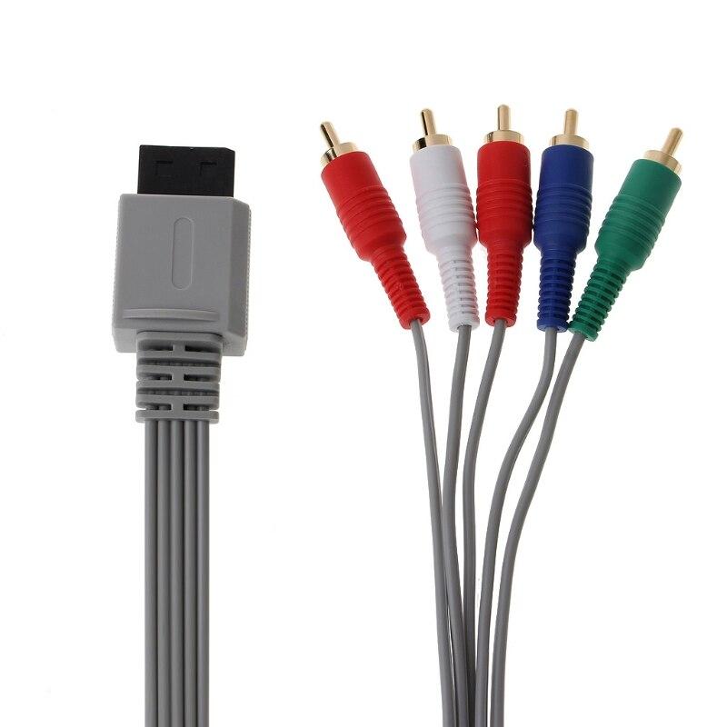Cable adaptador de Audio AV HDTV para consola Nintendo Wii, componente de...