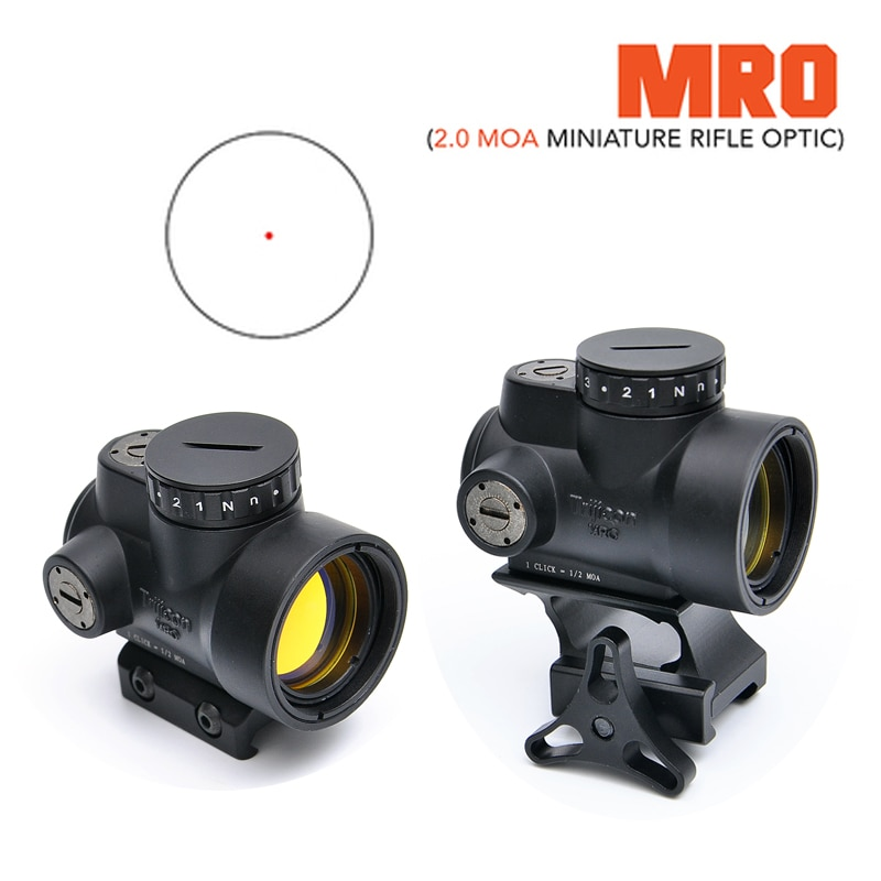 1x25 mro reflex sight 2 moa red dot reticle qr picatinny montagem para pistola de riflescope