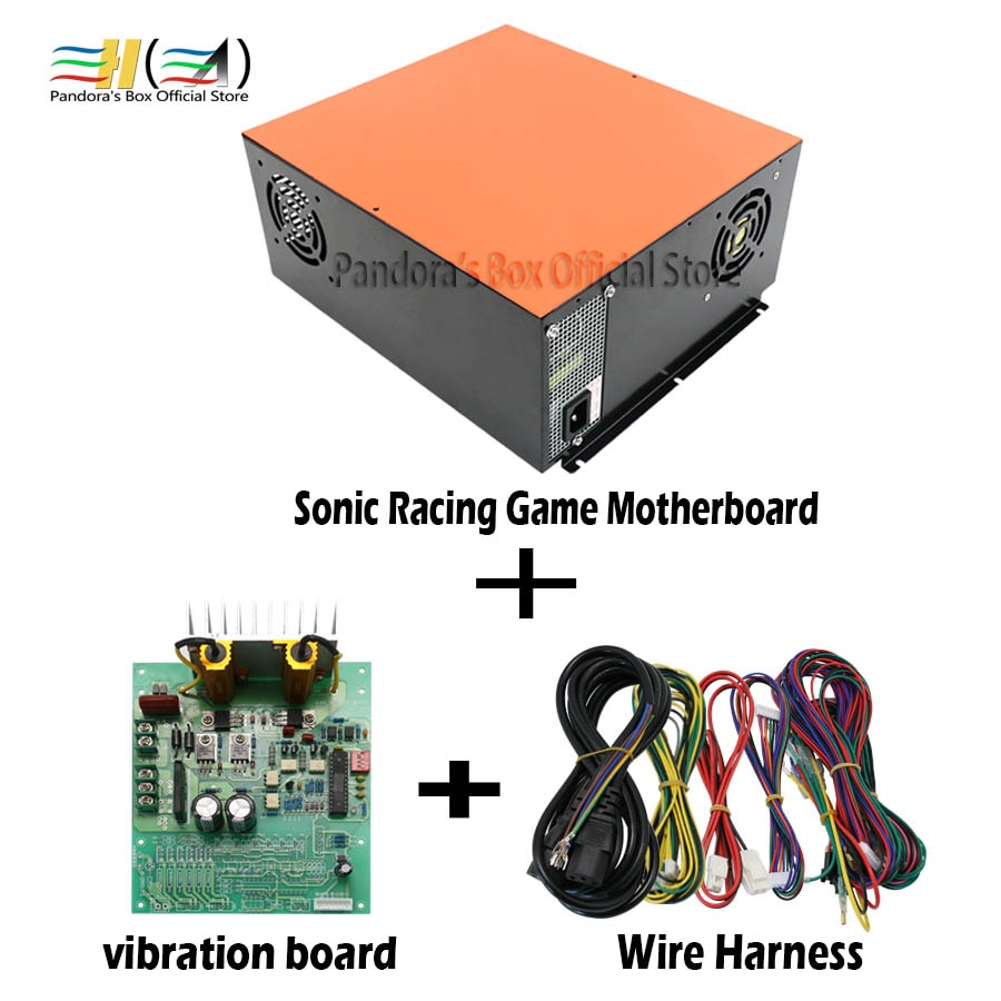 Sonic Simulator Car Racing Driving Game Racing Game Motherboard Car Racing Game Console Kits for arcade machine cabinet
