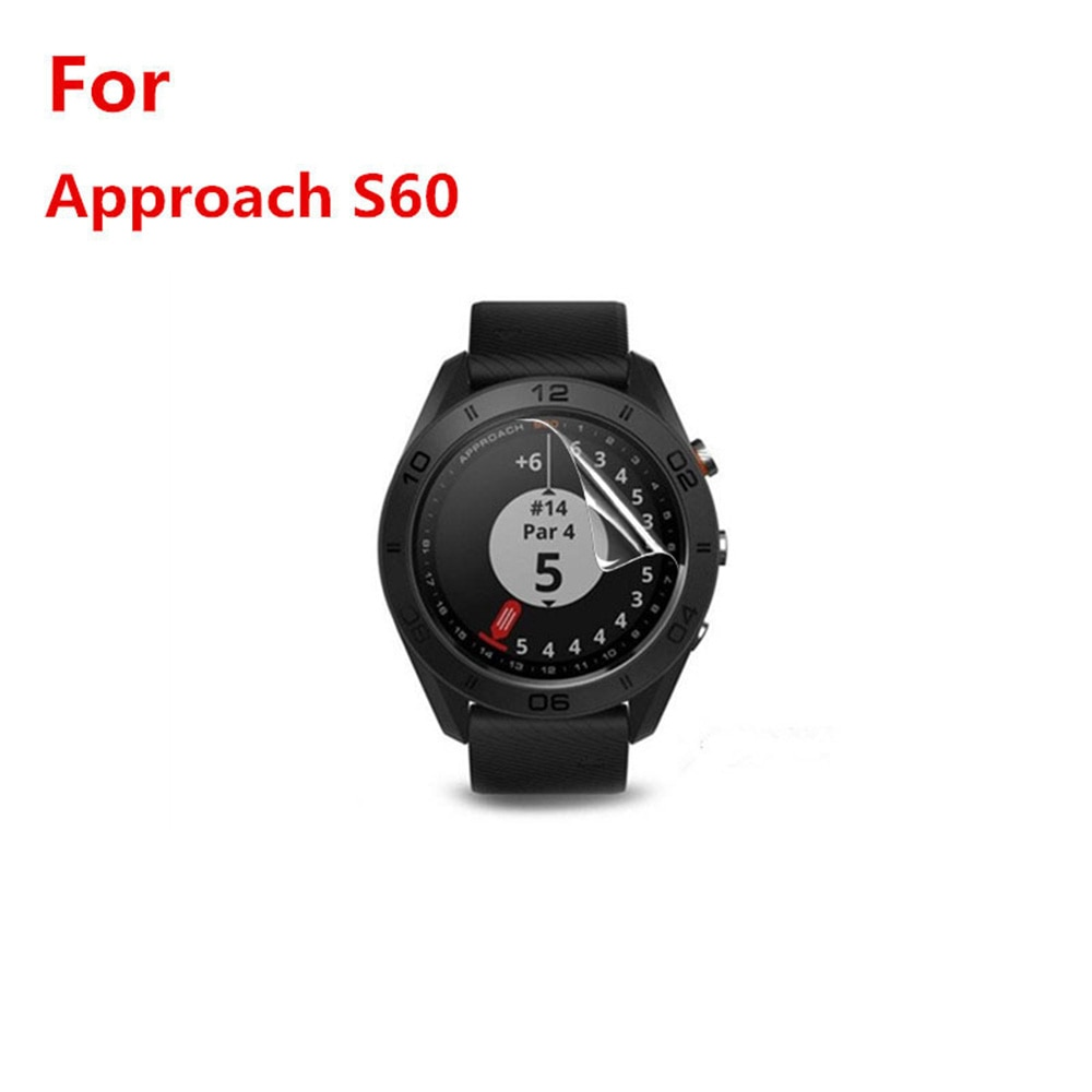 For GARMIN Approach S60 Protective Film Sports Watch Accessories With Cleaning Kit