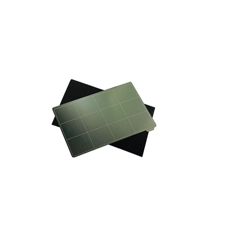 Sistema energético da placa do cabo flexível para a impressão da resina, placa de construção de aço da mola da remoção de 102x59mm + base magnética para o fotão anycúbico zero