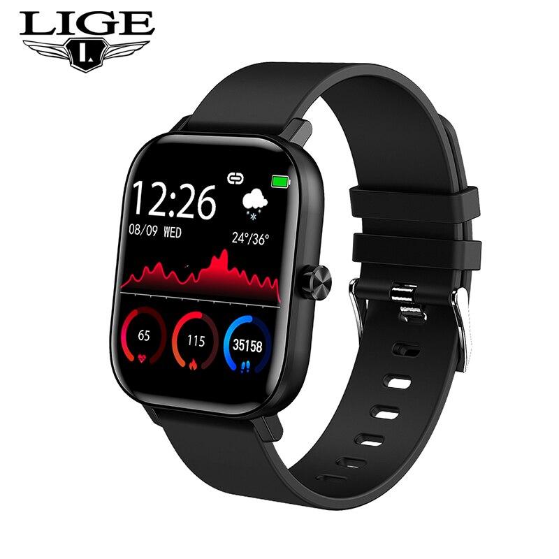 Monitor de Freqüência Relógio para Telefone 2021 para Homens Lige Jovens Relógio Digital Pulseira Esporte Feminino Cardíaca Monitor Sono Bluetooth Chamada