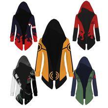 Anime Naruto Cosplay Costumes Yondaime Hokage Namikaze Minato manteau à capuche Hatake Kakashi 7th Yondaime manteau Trench costume nouveau