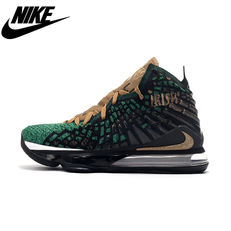 Nike Lebron 17 Future Air Woven Upper Air Cushion Boots Men's Basketball Shoes
