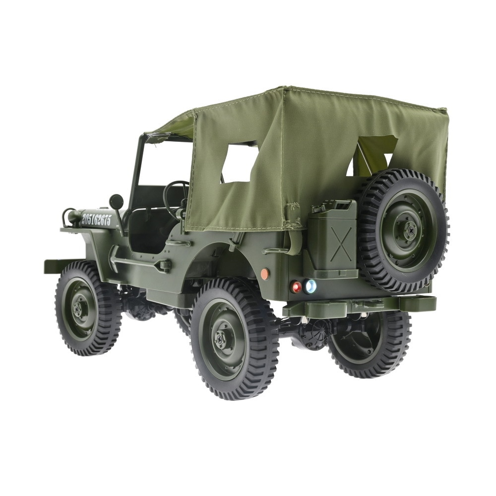 C606 1:10 RC Car 2.4Ghz Remote Control Car Full-scale 4WD Climbing Jeep Car Four-wheel Drive Climbing Convertible Toy Car enlarge