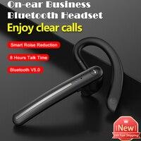 Беспроводные наушники с ушным крючком, 8 часов работы в режиме разговора, Fone, Bluetooth, двойной микрофон, умные наушники с шумоподавлением, Bluetooth ...