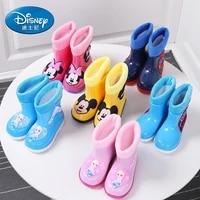 original disney new childrens rain boots snow boots for kindergarten babies marvel anti skid water shoes light rain boots