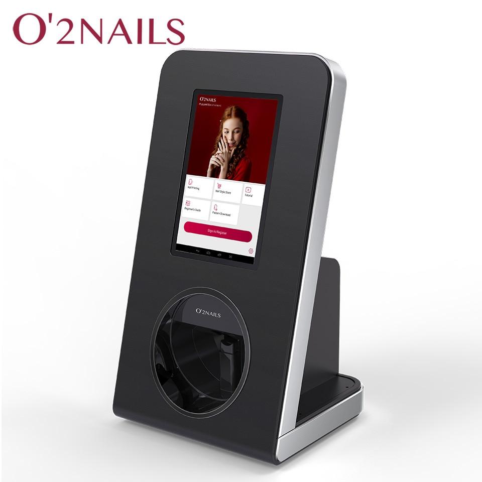 O2nails Nail Printer X12 Desktop Nail Art Printer Machine For Nail Business
