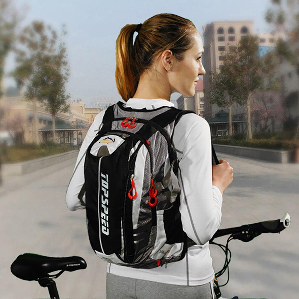 Mochila de nailon para deportes al aire libre de 18l, mochila resistente al agua para ciclismo, escalada, senderismo y ciclismo
