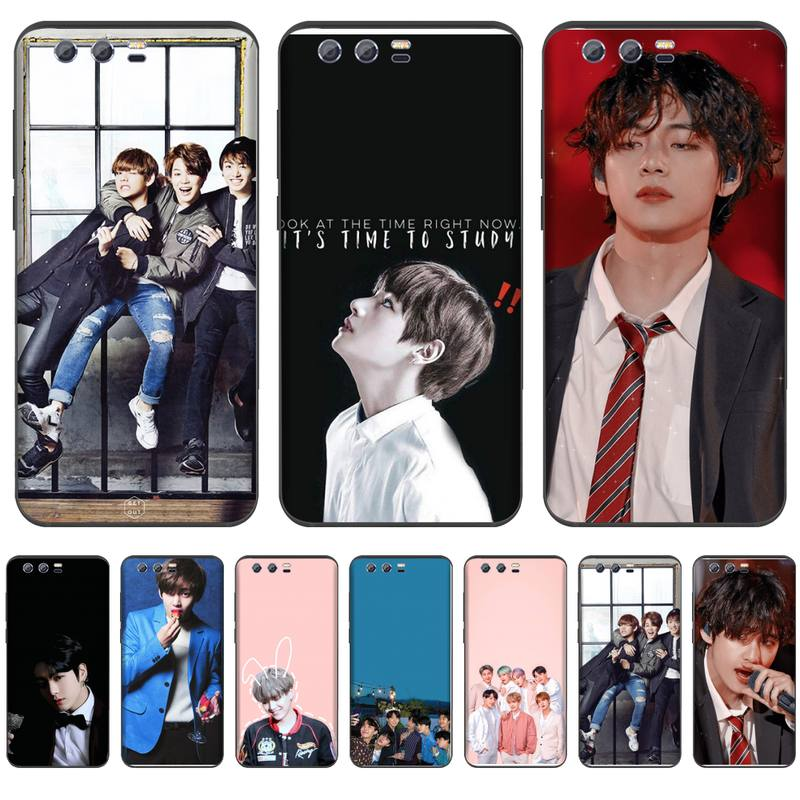Kpop Bangtan niños DIY Impresión de cubierta de la caja del teléfono de Shell para Huawei NOVA 2 2i 2s 3i 4 4e 5 plus P10 lite 20 P20 pro honor10