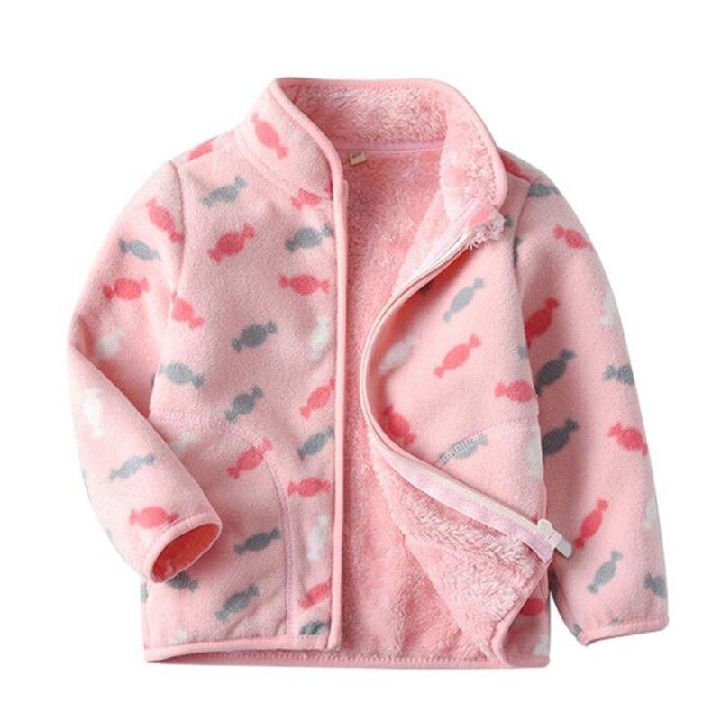 Niñas abrigo otoño e invierno nuevo Cardigan suéter chaqueta con cremallera KOutdoor niños de manga larga de terciopelo de solapa de moda chico madres