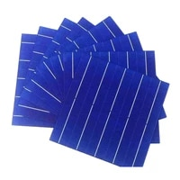 20 pcs 90w 157mm efficiency photovoltaic polycrystalline silicon solar cell prices cheap grade a for diy pv poly solar panel
