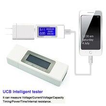 7in1 USB testeur maison USB prise voltmètre ampèremètre testeur de Charge pour tension batterie Charge mesure câble testeur de résistance