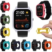 new full protective tpu smartwatch soft silicone film for xiaomi huami amazfit gts watch screen protector soft silicone shell