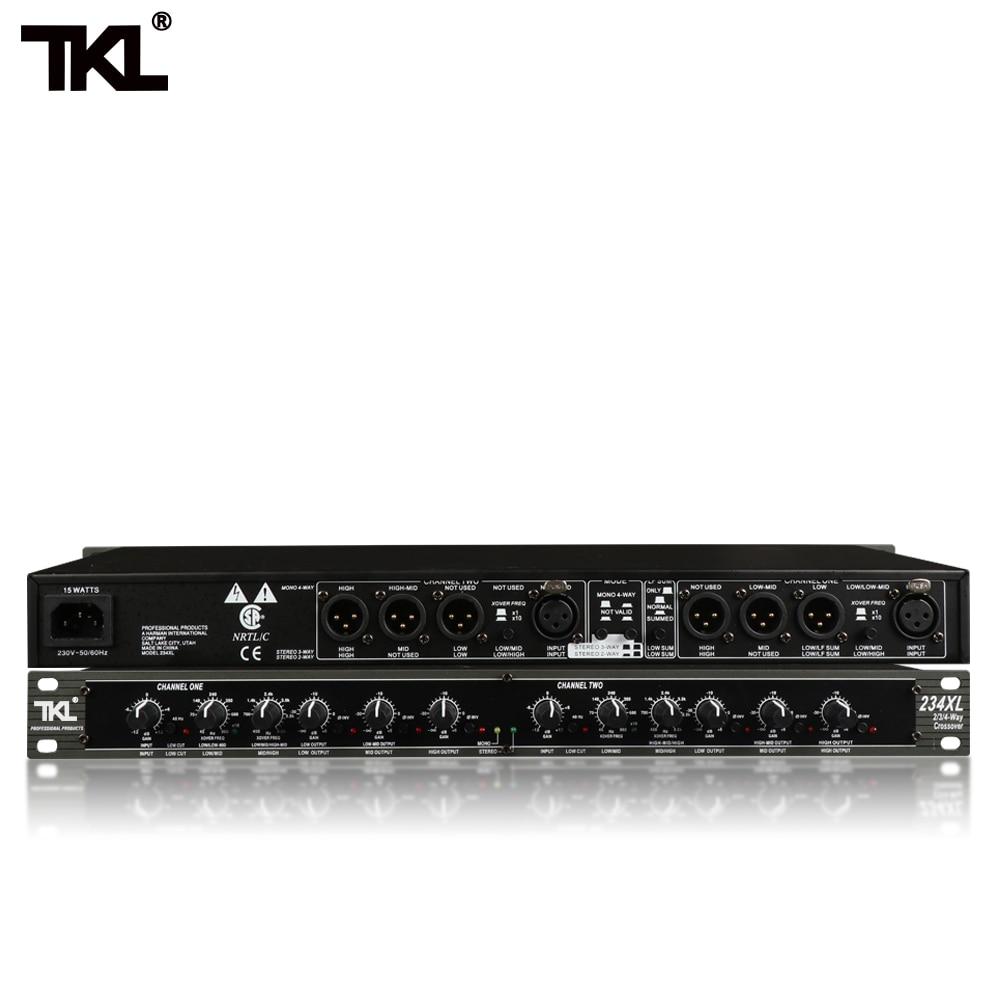 TKL مونو 4-Way كروس جودة عالية ستيريو 2/3 طريقة 234XL المهنية الموسيقية كروس أوفر الإلكترونية كروس
