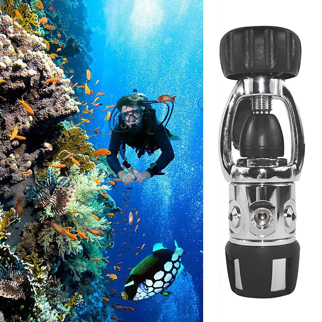 Premium Diving First Stage Regulator Adapter Dive Tank Yoke Stainless Steel] Convertor Adaptor Repair Component Parts Access