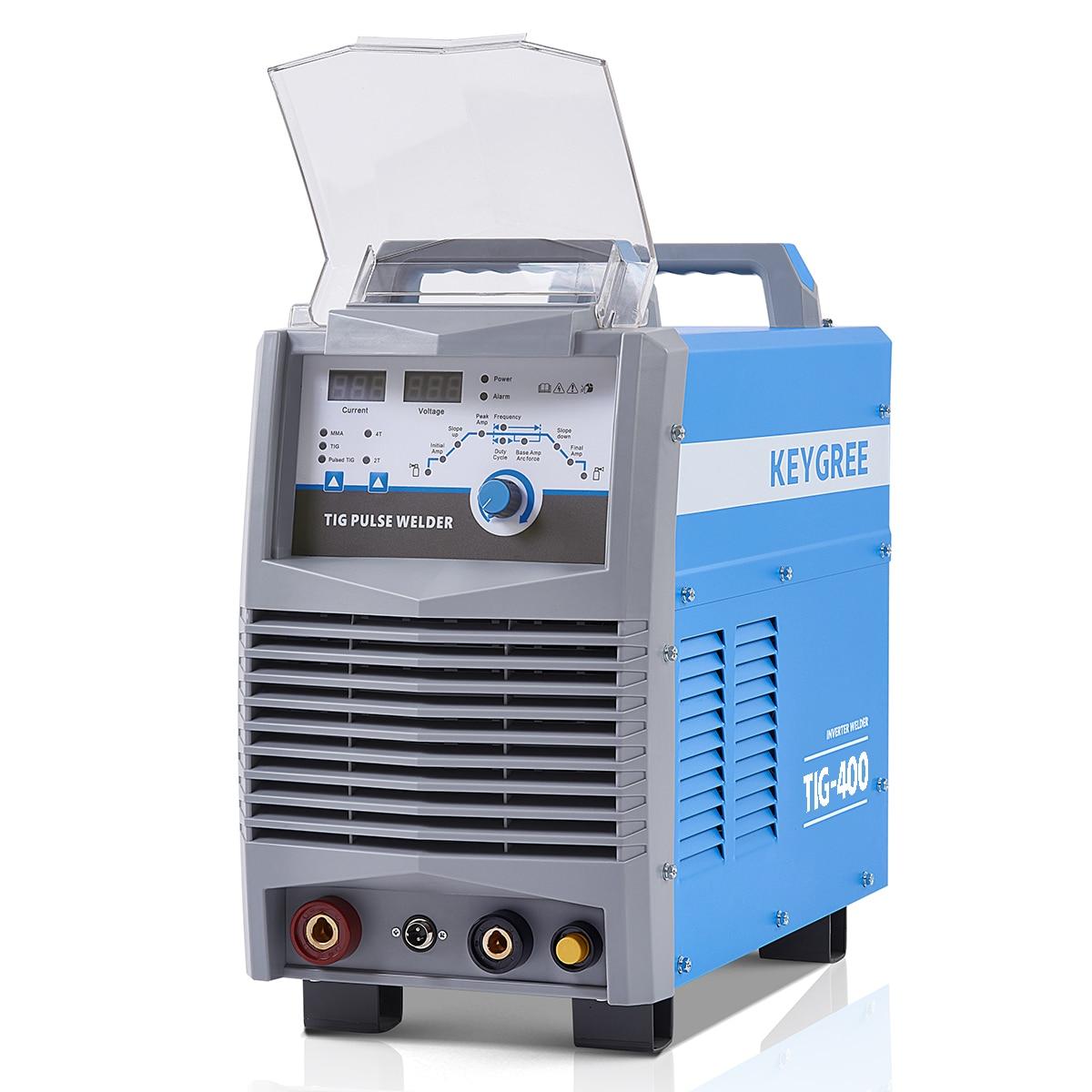 Igbt inversor ideal para soldagem de carbono/inoxidável/aços de baixa liga de pulso argônio tig 400 soldadores