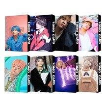 30 unids/set Kpop Bangtan boys V nuevo mapa alma PERSONA chicos LUV Lomo tarjetas postal Self made foto regalo de seguidor