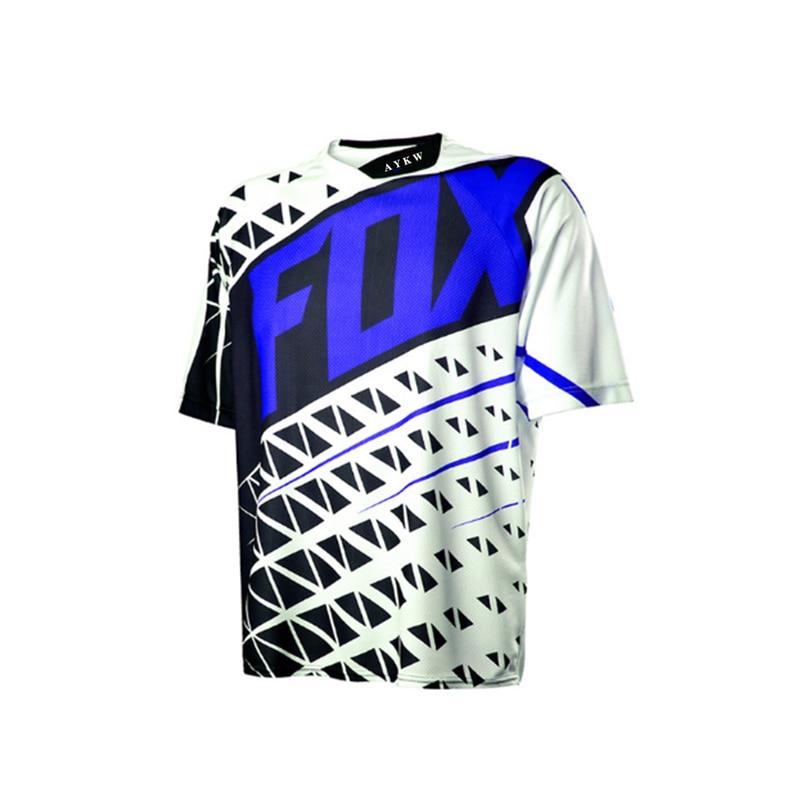 Fox Jersey Enduro Motocross Ciclismo De Hombre Maillot bicicleta Ropa Mtb camisa...