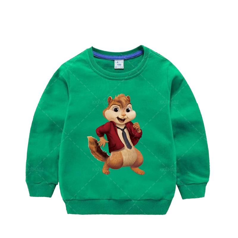 Фото - Детский пуловер, свитшоты для мальчиков и девочек, детские свитшоты, топы, весенне-осенняя одежда, свитшот для малышей, толстовки с мультяшн... толстовки и свитшоты рыжий кот тм свитшот для девочки панды