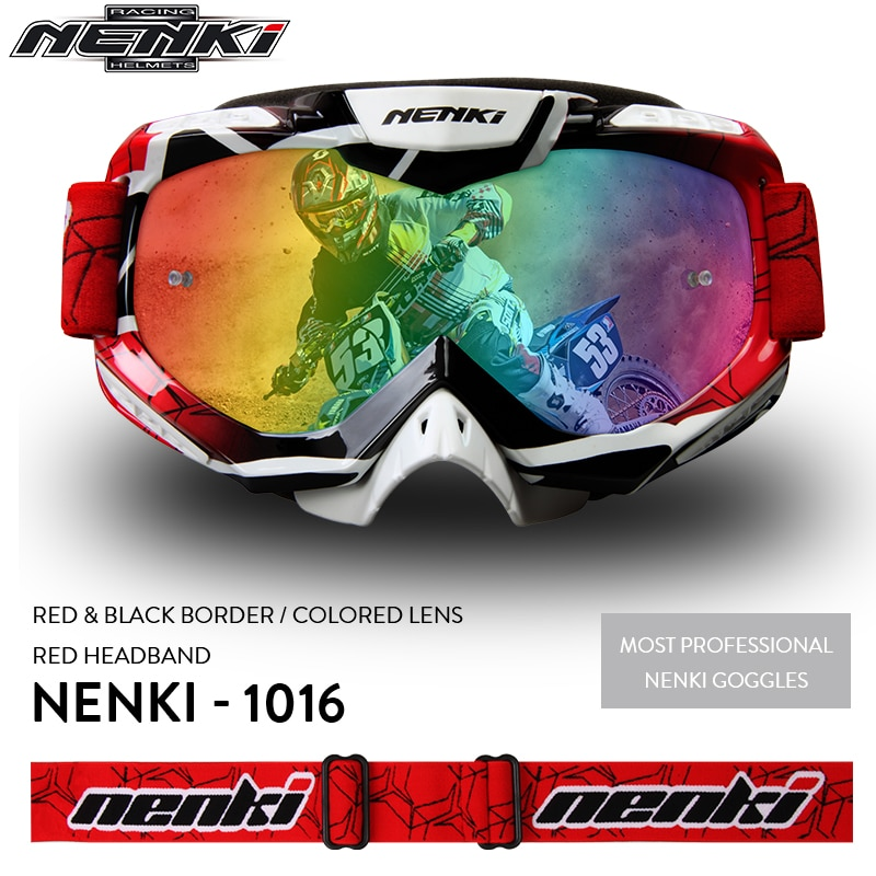 Очки для мотокросса NENKI, мужские и женские очки для мотокросса, мотоциклетный шлем, внедорожные очки для мотокросса, очки для квадроцикла MX BMX DH MTB