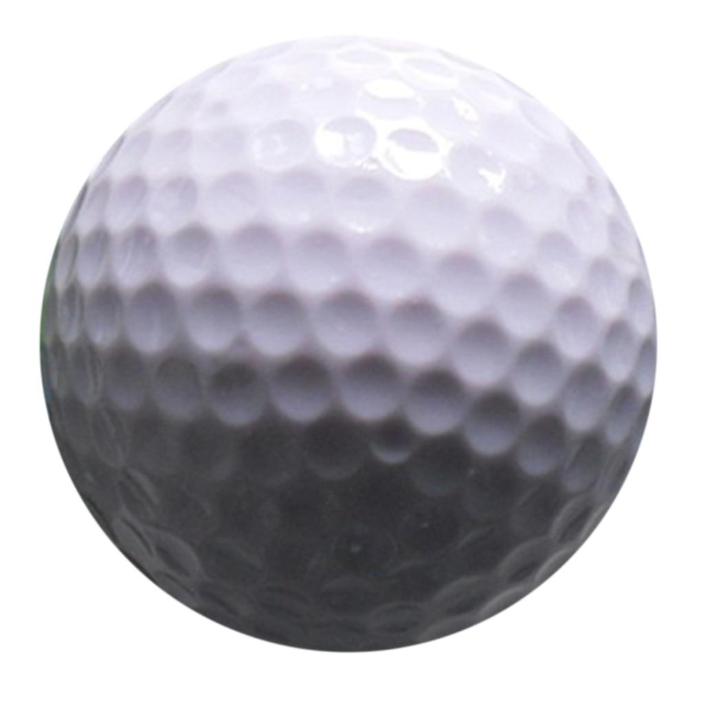 White New Golf PU Ball Sponge Ball PU Foam Ball Indoor Exercise PU Toy Ball Golf Ball Soft Indoor Practice Safety Elastic Ball