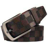 new mens pure leather belts classic antique metal buckle belts fashion business casual high grade luxury belts designers men