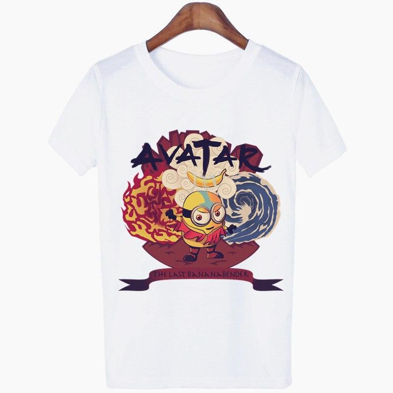 Женская футболка с Аватаром The Last Airbender Aang, Повседневная футболка в стиле хип-хоп