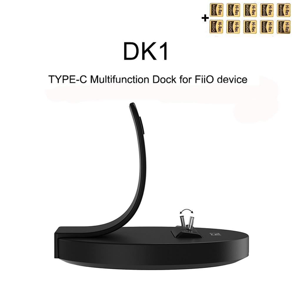 FiiO DK1 نوع-C متعدد الوظائف قفص الاتهام USB DAC ينطبق على Fiio M11 Plus LTD M15 M11 / M11 PRO M9 M7 M6