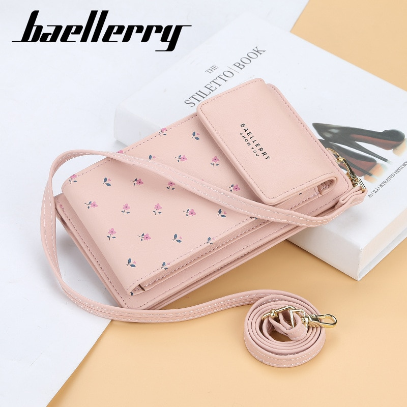 Baellerry, cartera para mujer, cartera para teléfono móvil, pequeño bolso de mano, bolso de mano, Mini bandolera, bandolera, monedero, cartera para mujer