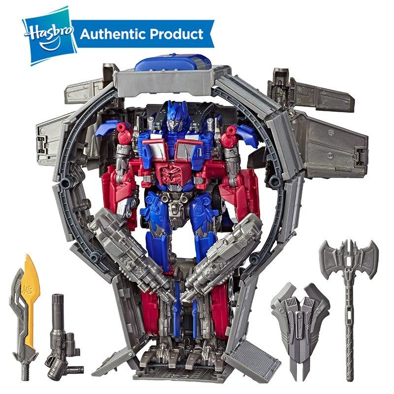 Hasbro Трансформеры Игрушки Робот студия серия 44 лидер класс Трансформеры Темный Луны фильм Оптимус Прайм фигурка