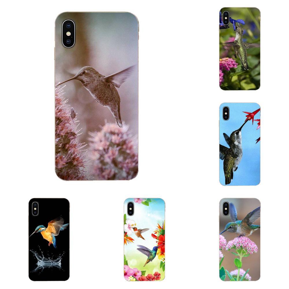 Funda de silicona con diseño de animales y flores, colibrí para Xiaomi CC9, CC9E, Mi 3, 4, 4i, 5, 5S, 6, 6X, 8, 9, SE, Play Plus, Pro Lite, A1, mezcla 2, Note 3
