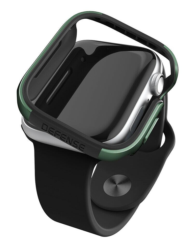 X-Doria-حافة الدفاع عن مصد ساعة Apple ، غلاف معدني من الألومنيوم لـ Apple Watch 5 ، 4 ، 44 مللي متر ، 40 مللي متر ، 38 مللي متر ، 42 مللي متر