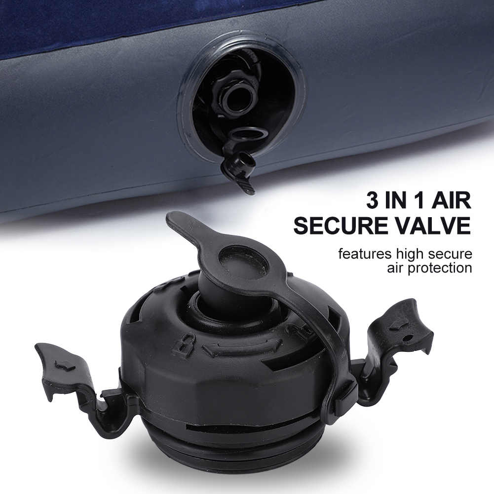 Tapa De Sellado Seguro De Válvula De Aire 3 En 1 Anticorrosión Para Colchón De Cama De Aire Inflable Intex Negro Tapas De Válvula Aliexpress