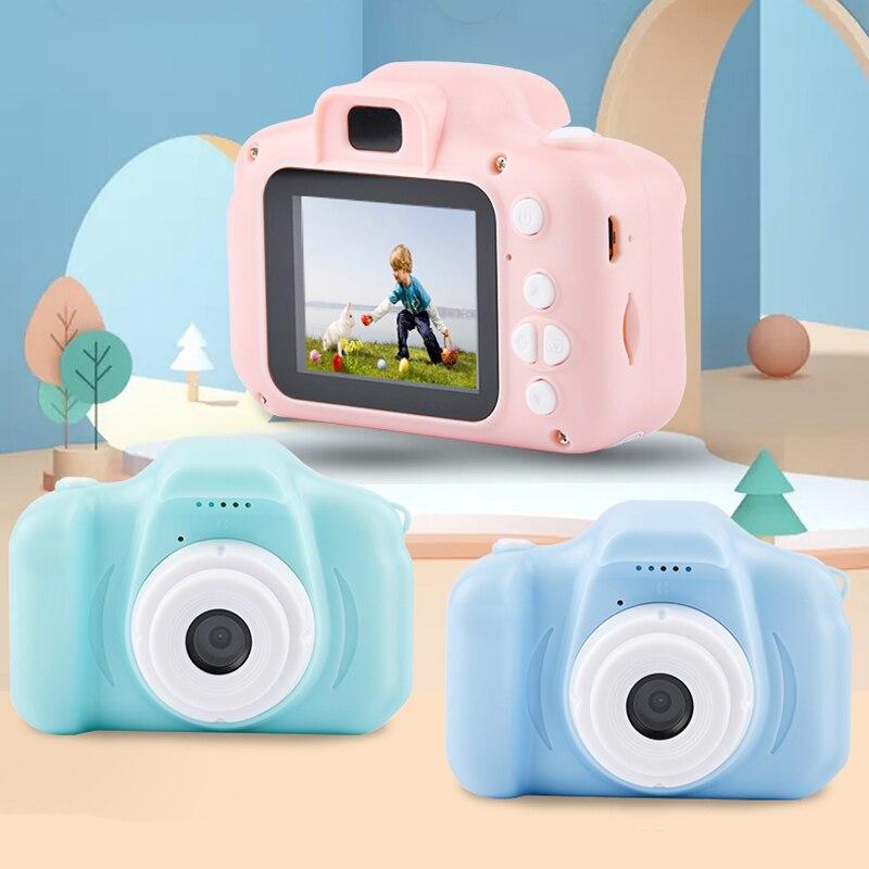 Mini cámara de juguete educativa para niños, cámara Digital de regalo de...