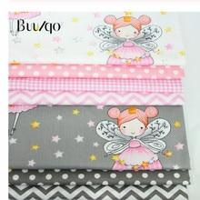 Tissu imprimé en sergé de coton pour bébé, mètre, pour bricolage, linge de literie, couture de patchwork et tissus de fabrication de robe à la mode