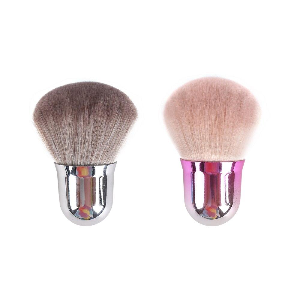 Фото - Кисть JIELI для макияжа, кисть для румян, Рассыпчатая Кисть для макияжа, косметический инструмент, синтетический ворс, профессиональная кисть ... косметический инструмент для макияжа