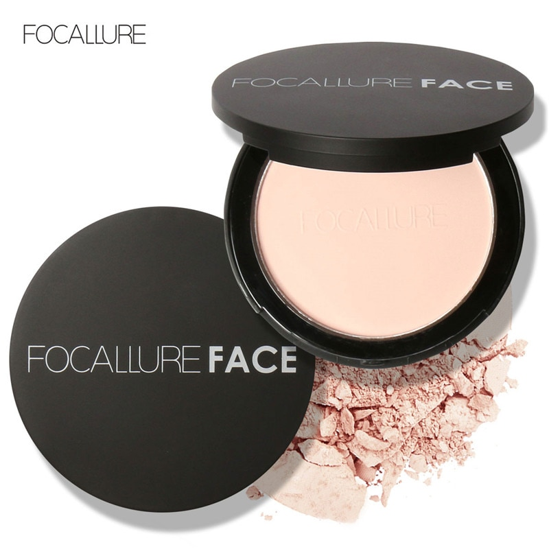 AliExpress - FOCALLURE mineral face pressed powder oil control natural foundation powder 3 colors Smooth finish concealer setting powder