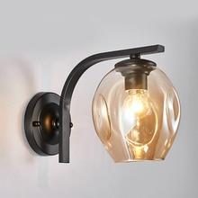 Estilo nórdico lâmpada de parede arandelas luz da escada interior quarto cabeceira casa corredor lâmpada luzes parede profissional f25