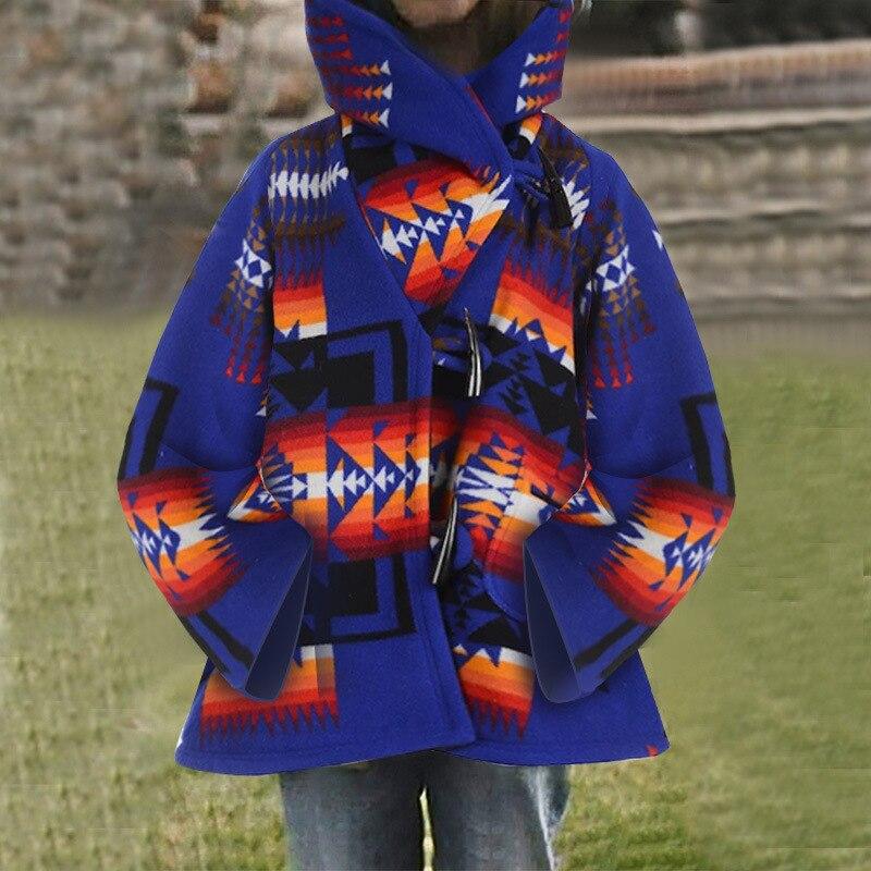 Ropa Vintage De otoño para Mujer, abrigos y chaquetas De manga larga...