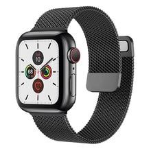 Correa para Apple watch, banda de 44mm, 40mm, 38mm, 42mm, accesorios para pulsera inteligente iWatch serie 3 4 5 6 se 7 45mm 41mm